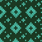 Mesa 4008-03 Evergreen Tile by Alexia Abegg for Cotton + Steel