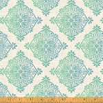 Mariposa 40087-2 Turquoise Medallions by Windham