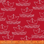 Ahoy Matey! 40154-3 Red Boat by Whistler Studios for Windham
