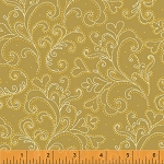 Glisten 40303M-1 Gold Metallic Scroll by Windham