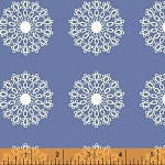 Modern Country 40721-2 Periwinkle Lace Medallion by Windham