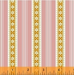 Modern Country 40724-5 Pink Floral Stripe by Windham