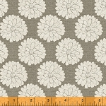 Jardin de Provence 40790-1 Linen Mums by Daphne B for Windham