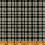 Jardin de Provence 40792-2 Black Plaid by Daphne B for Windham