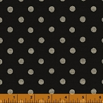 Jardin de Provence 40793-2 Black Polka Dot by Daphne B for Windham