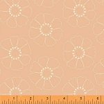 Hazel 40839-9 Peach Stencil Flower by Allison Harris for Windham