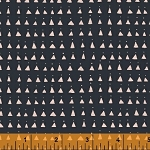 Whisper 41364-6 Navy Triangles by Victoria Johnson for Windham