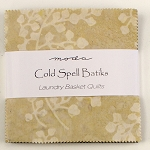 Cold Spell BATIKS Charm Pack by Laundry Basket for Moda