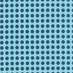 Gooseberry 5013-26 Sky Navy Dots by Lella Boutique for Moda