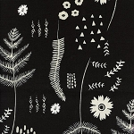 Black & White 5024-1 Fern Book by Cotton + Steel