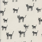 Black & White 5025-1 Tiger Stripes by Cotton + Steel