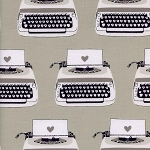 Black & White 5034-1 Typewriters by Cotton + Steel