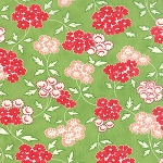 Hello Darling 55113-15 Green Picnic by Bonnie & Camille for Moda