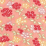 Hello Darling 55113-17 Coral Picnic by Bonnie & Camille for Moda