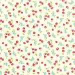 Vintage Picnic 55123-17 Cream Cherries & Pears by Moda