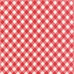 Vintage Picnic 55124-11 Red Check by Bonnie & Camille for Moda EOB