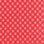 Vintage Picnic 55124-23 Tonal Red Check by Bonnie & Camille for Moda EOB