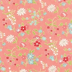Vintage Picnic 55125-13 Coral Playful by Bonnie & Camille for Moda