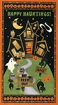 Scaredy Cats 67507-892 Panel by Debbie Mumm for Wilmington