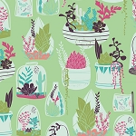 Succulence 98610 Habitat Luscious by Bonnie Christine for Art Gallery