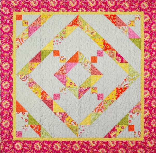 Baby Diamond Daze Quilt Pattern Dragonfly Fiberart