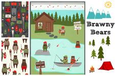 Brawny Bears