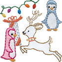 Christmas Time Embroidery Pattern by Sublime Stitching