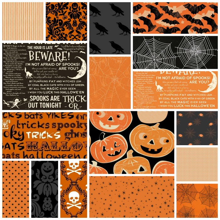 Halloween Fabric Collections