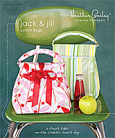 Jack and Jill Lunch Bags Pattern by Heather Bailey