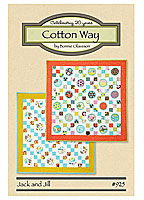 Jack and Jill Quilt Pattern by Cotton Way