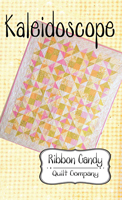 Kaleidoscope Quilt Pattern by Ribbon Candy Quilt Co.