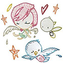 Kurt Halsey Embroidery Pattern by Sublime Stitching