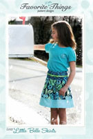 Little Belle Skirt Pattern by Favorite Things