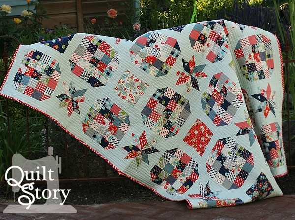 Lucky Stars Quilt Pattern Quilt Story