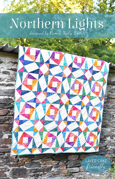 Northern Lights Quilt Pattern - Pam & Nicky Lintott : northern lights quilt pattern - Adamdwight.com