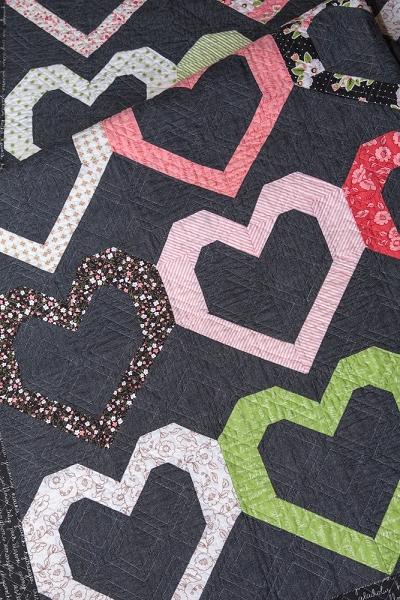 Open Heart Quilt Pattern Lella Boutique Extraordinary Heart Quilt Pattern