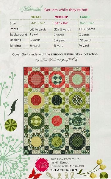 Snow Globes Quilt Pattern By Tula Pink