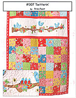Twitterin' Quilt Pattern by Prim-Point Designs