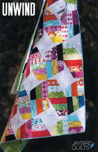 Jaybird Quilts Quilting Pattern - Unwiind | The Quilted Castle : quilted castle - Adamdwight.com
