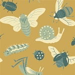 Acorn Trail Organic TW-15 Gold Bugs by Teagan White for Birch