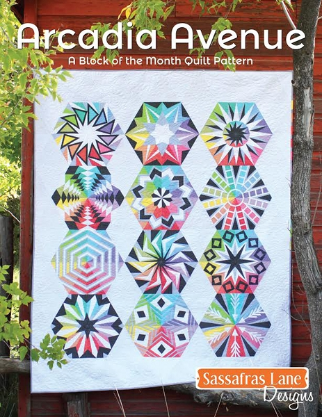 Arcadia Avenue Block Of The Month Quilt Pattern By Sassafras Lane Extraordinary Block Of The Month Quilt Patterns