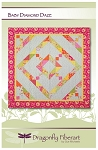 Baby Diamond Daze Quilt Pattern by Dragonfly Fiberart