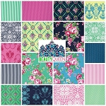 Beauty Queen 18 Fat Quarter Set by Jennifer Paganelli for Free Spirit