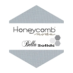 Bella Solids Honeycomb 9900HC-183 Silver by Moda