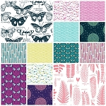 Biology Organic 13 Fat Quarter Set by Sarah Watson for Cloud 9
