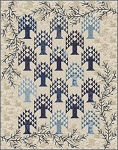 Blue Spruce Quilt Pattern by Laundry Basket Quilts