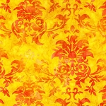 Batiks BT6072 Sunkist Dandy Damask by Michael Miller