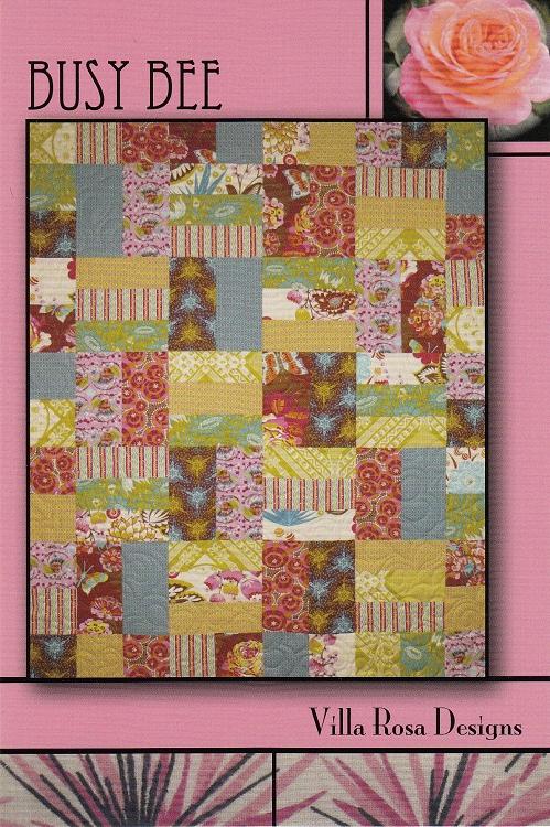 Busy Bee Quilt Pattern - Villa Rosa Designs : bee quilt pattern - Adamdwight.com