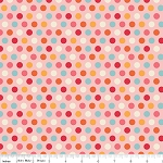 Just Dreamy 2 C4134 Pink Dots by My Mind's Eye for Riley Blake