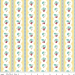 The Shabby Strawberry C6041 Yellow Stripe by Penny Rose